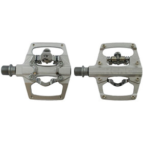 KCNC AM Trap-TI Pedales Automáticos Doble Lado, silver